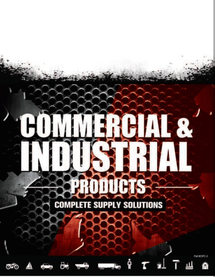 Cover of a commercial and industrial Catalog